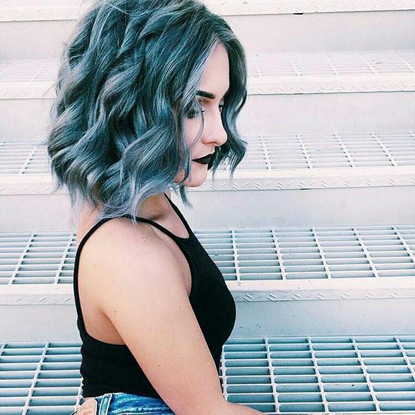 Short-Wavy-Curly-Hair New Short Wavy Hair Ideas in 2019