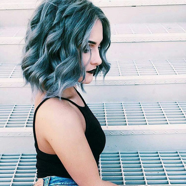 Short-Wavy-Curly-Hair New Short Wavy Hair Ideas in 2019