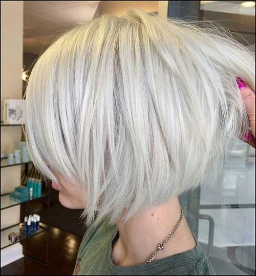 Short-White-Blonde-Hair-1 New Short White Hair Ideas 2019
