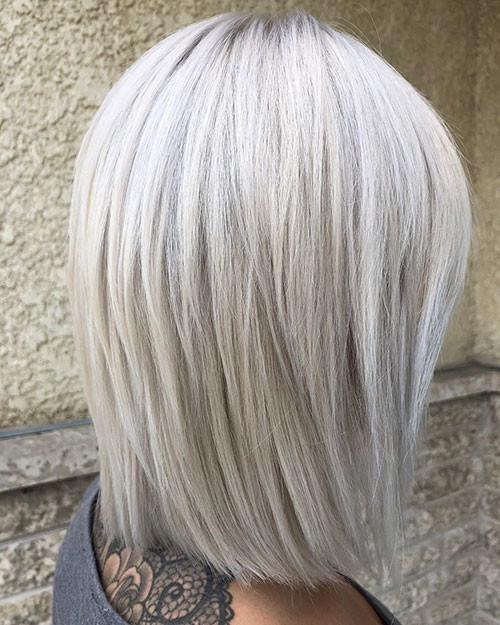 Short-White-Blonde-Hair-3 New Short White Hair Ideas 2019