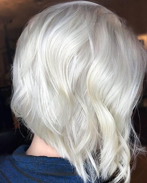 Short-White-Blonde-Hair-4 New Short White Hair Ideas 2019