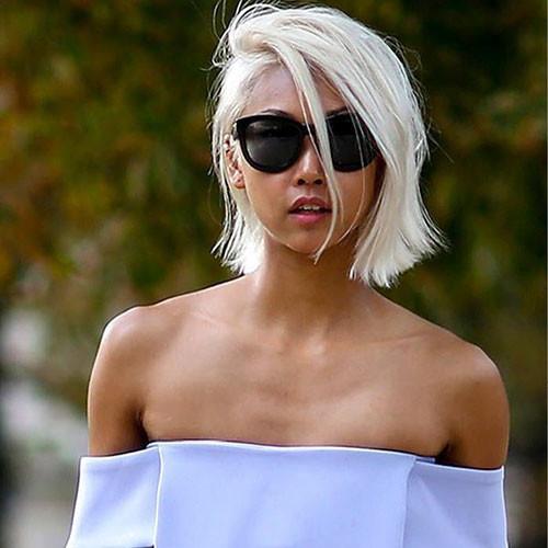 Short-White-Hair-1 New Short White Hair Ideas 2019