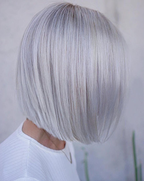 Short-White-Hairstyle-1 New Short White Hair Ideas 2019