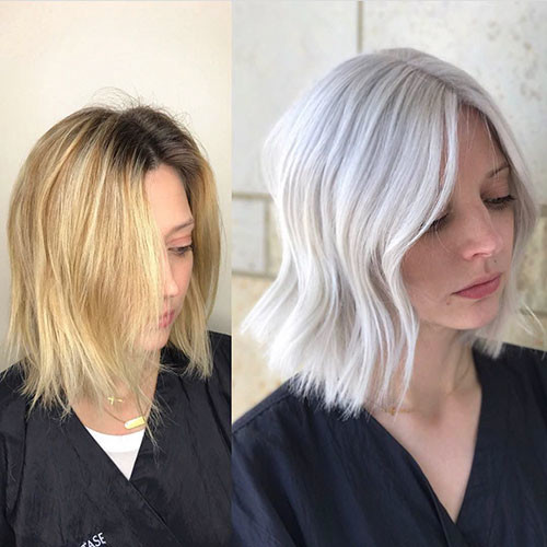 Short-White-Hairstyles-1 New Short White Hair Ideas 2019