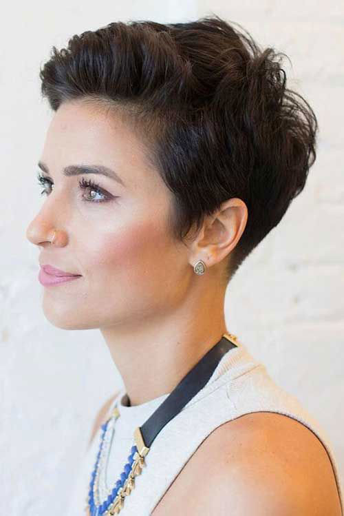 Simple-Pixie-Style Short Pixie Haircuts for Pretty Look