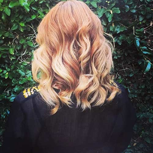 Soft-Curls Trending Style for Summer: Curly and Wavy Hairstyles