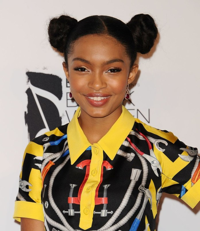 Space-Buns Easy Natural Hairstyles for Black Women