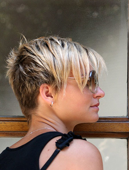 Spiked-Look Trendy Haircuts for Short Hair