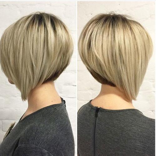 Stacked-Bob-1 Elegant Short Haircuts for Thick Hair