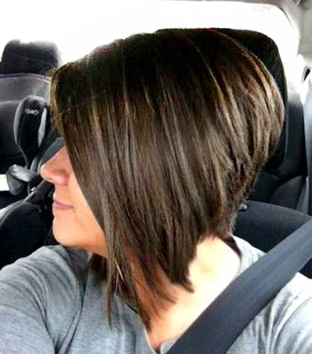 Straight-Blunt-and-Asymmetrical-Bouncy-Bob-Hairstyle Pics of Bob Hairstyles 2019