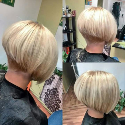 Thick-Blonde-Bob Various Short Blonde Bob Hairstyles