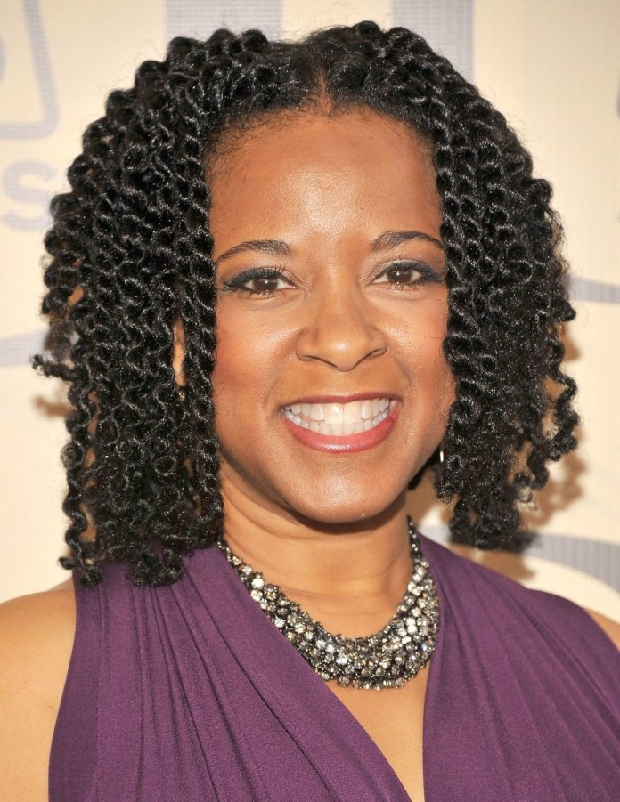 Two-Strand-Twist Easy Natural Hairstyles for Black Women