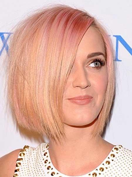 Very-Alluring-and-Feminine-Bob-Hair Hair Color for Short Hair 2019