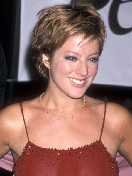 Very-Short-Layered-Curly-Hair Best Celebrity Short Hairstyles