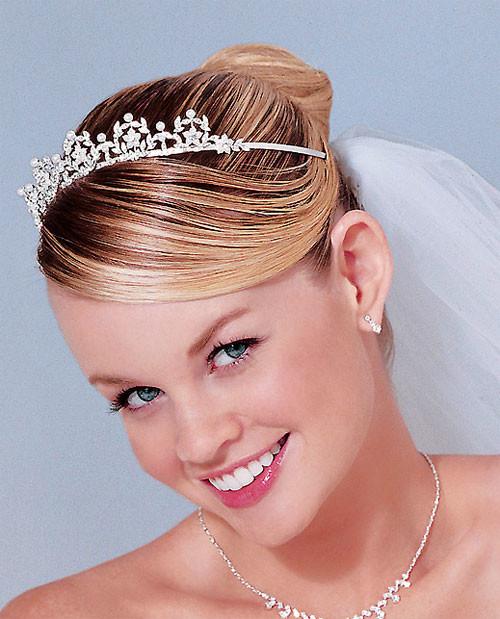 Wedding-bridal-hairstyles-for-short-hair Short Wedding Hair Ideas