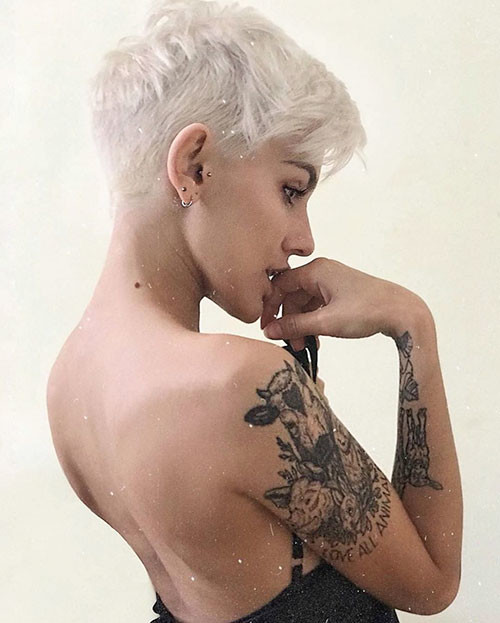 layered-pixie-3 Best Short Layered Pixie Cut Ideas 2019