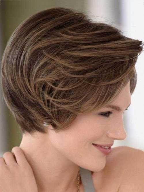 16.Short-Hair-For-Women-Over-40 Short Hair Cuts For Women Over 40