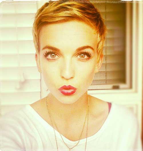 17.Cute-And-Easy-Short-Hair Cute And Easy Hairstyles For Short Hair