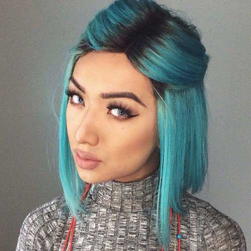 18.Cute-And-Easy-Short-Hair Cute And Easy Hairstyles For Short Hair
