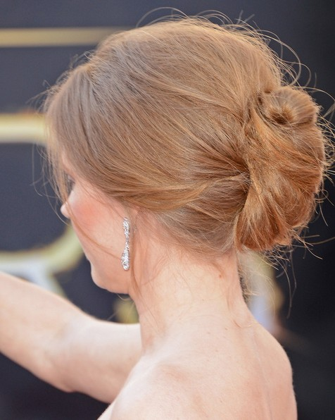 2014-Amy-Adams-Hairstyles-–-Easy-Bun-Updos Top 100 Celebrity Hairstyles 2019