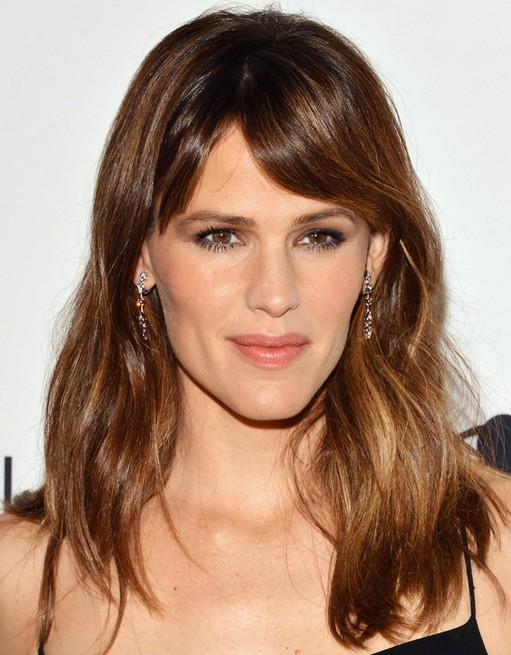 2014-Jennifer-Garner-Hairstyles-–-Medium-Hair Top 100 Celebrity Hairstyles 2019