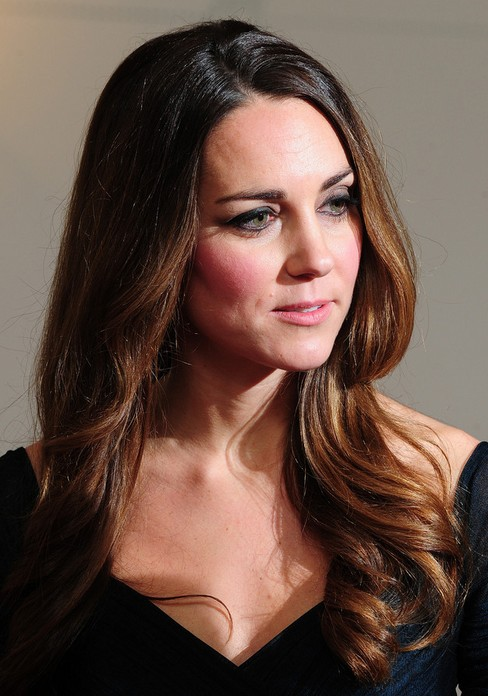 2014-Kate-Middleton-Hairstyles-Formal-Long-Hair Top 100 Celebrity Hairstyles 2019