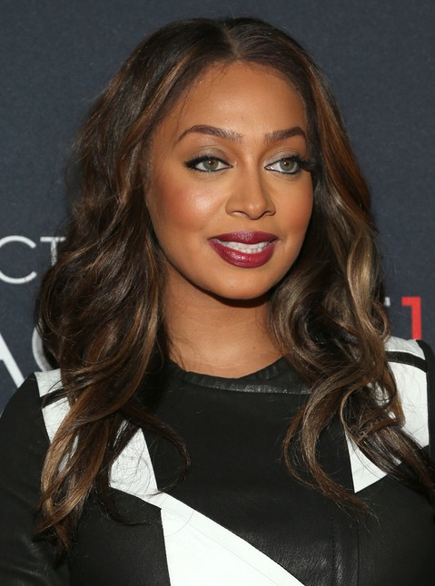 2014-La-La-Anthony-Hairstyles-–-Brown-Long-Hair Top 100 Celebrity Hairstyles 2019