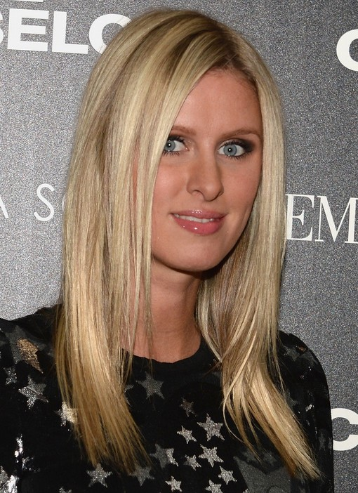 2014-Nicky-Hilton-Hairstyles-Medium-Straight-Haircut Top 100 Celebrity Hairstyles 2019