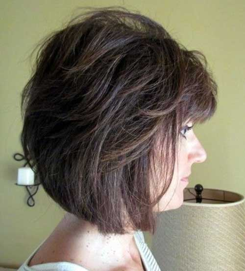 9.Short-Hair-For-Women-Over-40 Short Hair Cuts For Women Over 40