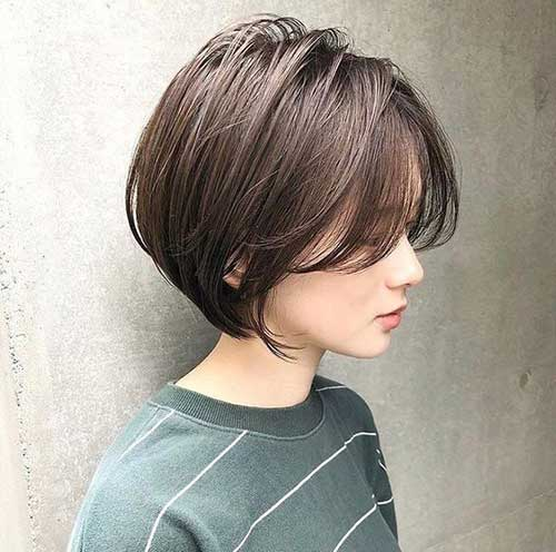 Asian-Short-Bob Latest Short Bob Haircuts for Women