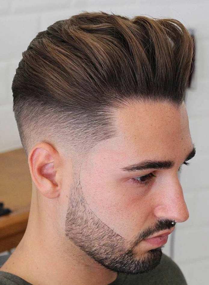 Back-Swept-Undercut Stylish Undercut Hairstyle Variations For 2019