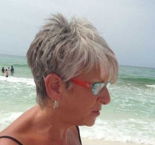 Best-Haircut-for-Summer Short Hairstyles for Older Women with Thin Hair