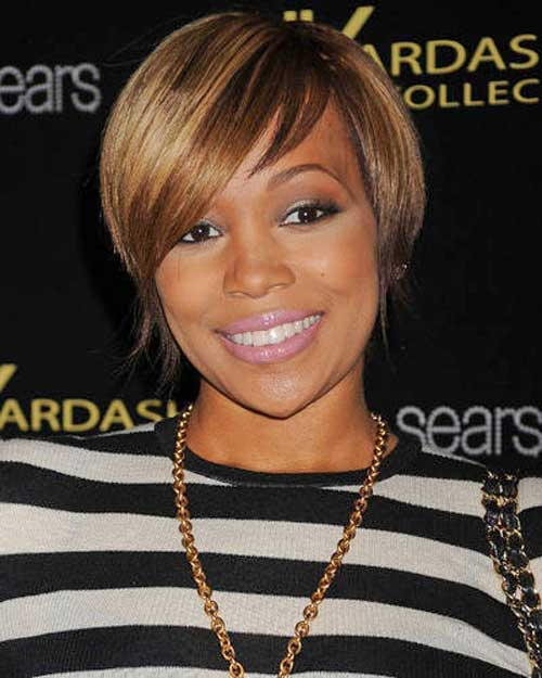 Black-Women-with-Short-Hairstyles-2 Black Women with Short Hairstyles