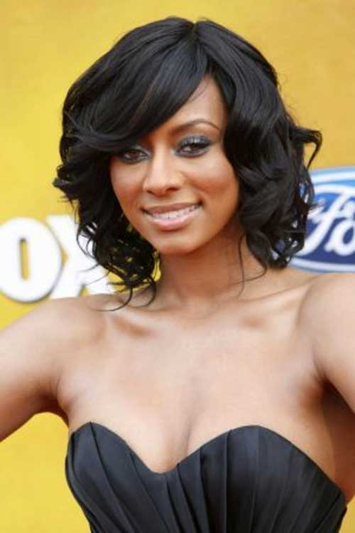 Bob-Hairstyle-for-Black-Women-with-Short-to-Medium-Length-Hair Short Bob Haircuts for Black Women