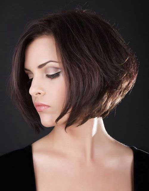 Brown-Bob-Hairstyle-for-Women Best Short Brown Haircuts 2019