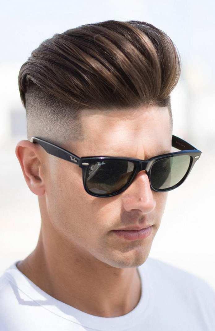 Brushed-Back-with-Undercut-1 Stylish Undercut Hairstyle Variations For 2019