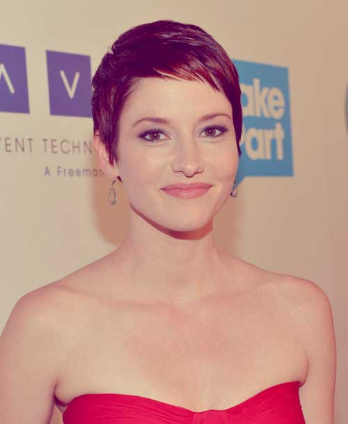 Celebrities-pixie-cut Top Celebrity Short Haircuts