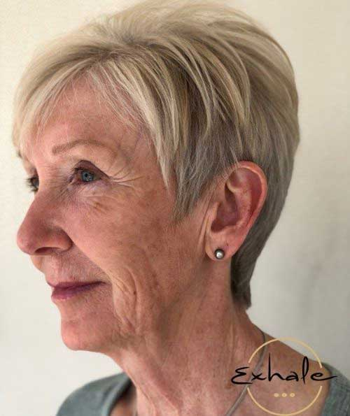 Choppy-Pixie 2019 Short Haircuts for Older Women
