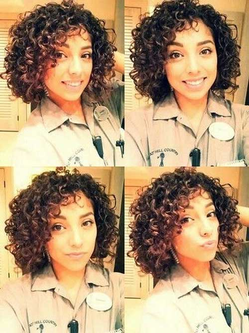 Curly-Short-Weave-Hairstyle-Idea Beautiful Short Curly Weave Hairstyles 2019