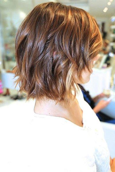 Curly-Wavy-Medium-Haircut-for-Ombre-Hair Fantastic Easy Medium Haircuts 2019 – Shoulder Length Hairstyles