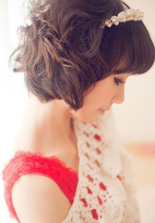 Curly-wavy-short-hairstyles Hairstyles for Short Wavy Hair