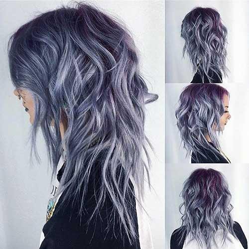 Cute-Medium-Hair Short to Medium Hairstyles 2019
