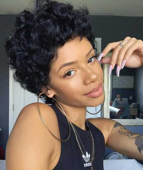 Cute-Short-Natural-Hair Latest Short Natural Hairstyles for Black Women