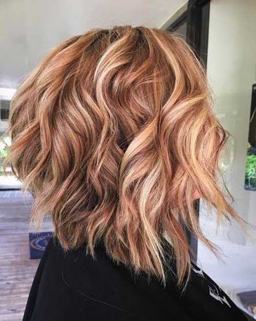 Dirty-Blonde-Balayage Latest Trend Hair Color Ideas for Short Hair