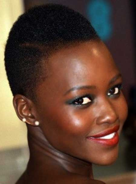 Extremely-Short-Curly-Hair Short Hairstyles for Black Women