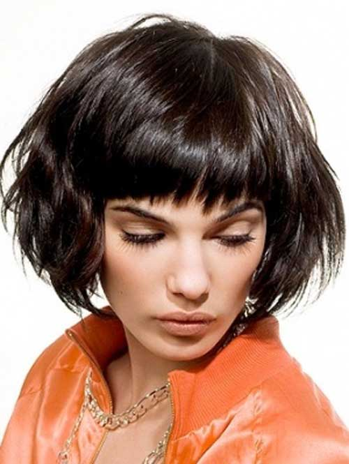 Hairstyle-for-Short-Wavy-Hair-14 Hairstyles for Short Wavy Hair