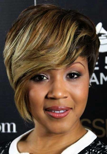Incredible-Asymmetrical-Pixie-Style Short Hairstyles for Black Women