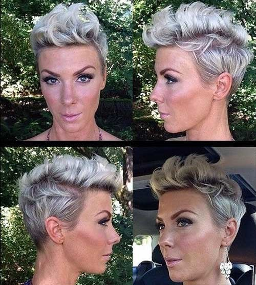 Inverted-Bangs-Mohawk-Pixie-Hairstyle-2015 Best Pixie Haircuts