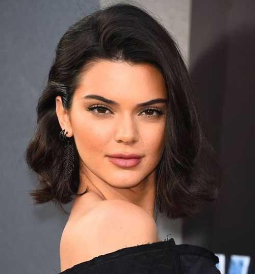 Kendall-Jenner-Bob-Hair Kendall Jenner Short Hair Pics