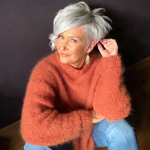 Long-Pixie-Cut Best Short Layered Haircuts for Women Over 50